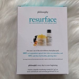 Philosophy microdelivery dual phase peel